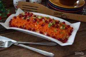 Салат из печени трески с яблоками - фото шаг 6