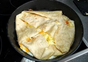 Лаваш с яйцом - фото шаг 3