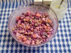 Салат к мантам - фото шаг 10