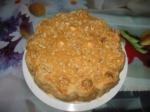 Торт без выпечки зефирный - фото шаг 9
