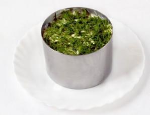Салат с сухариками и ветчиной - фото шаг 7