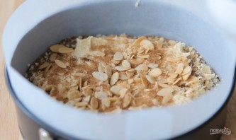 Бисквит с кофе и миндалем - фото шаг 5