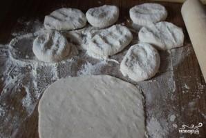 Татарские лепешки с картошкой - фото шаг 3