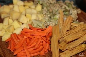 Овощи по-французски - фото шаг 1