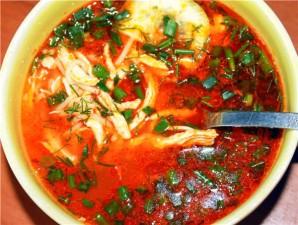 Суп из курицы с помидорами - фото шаг 6