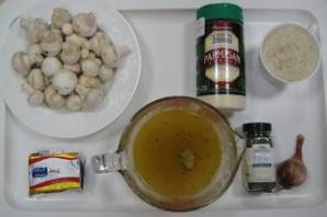 Ризотто с сыром и грибами - фото шаг 1