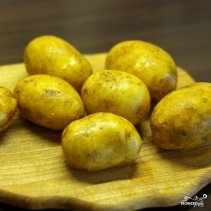 """Картофель запеченный """"Гармошка"""" - фото шаг 1"""