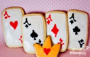"""Печенье """"Алиса в стране чудес"""" - фото шаг 5"""
