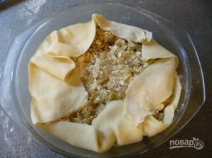 Греческий лук с мягким сыром - фото шаг 11