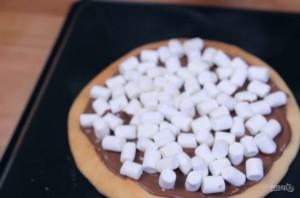 Пицца с маршмеллоу - фото шаг 4