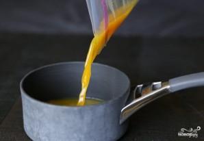 Апельсиновый соус к рыбе - фото шаг 7