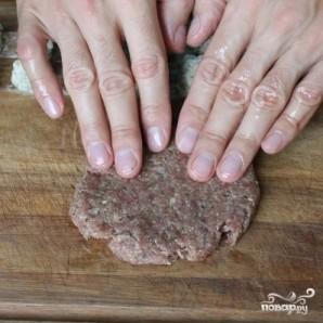 Зразы из говядины с сыром на пару - фото шаг 12