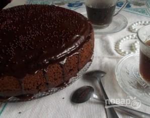 """Домашний торт """"Пьяная вишня"""" - фото шаг 17"""