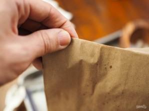 Попкорн в микроволновке с солью и маслом - фото шаг 3
