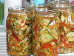 Салат с болгарским перцем на зиму - фото шаг 7