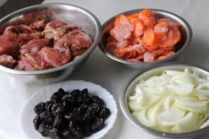 Ромштекс из говядины с черносливом - фото шаг 1