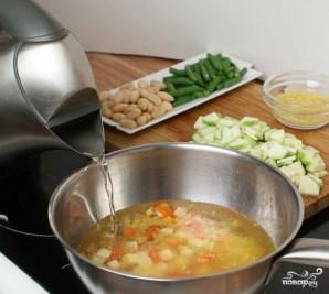 Овощной суп по-провански - фото шаг 1