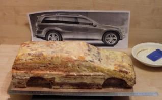 """Торт """"Гелендваген"""" - фото шаг 2"""
