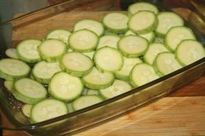 Кабачки с картошкой в духовке - фото шаг 1