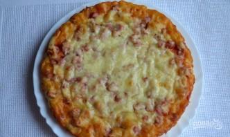 Тесто на кефире для пиццы в духовке - фото шаг 5