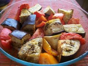 Запеченные овощи в фольге - фото шаг 4