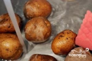 Картофель с зеленью - фото шаг 1