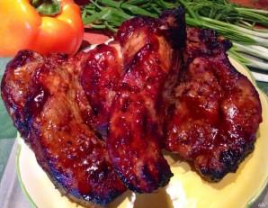 Свинина в кисло-сладком соусе в духовке - фото шаг 6