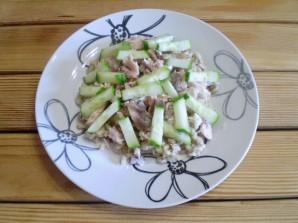 Салат к макаронам - фото шаг 7