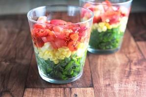Салат с тунцом слоеный - фото шаг 3