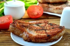 Отбивная из свинины на косточке - фото шаг 7