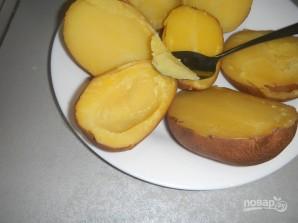 Картофель, запеченный с фаршем - фото шаг 4