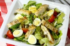 Салат с куриной грудки - фото шаг 5