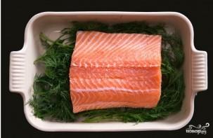 Засол красной рыбы - фото шаг 4