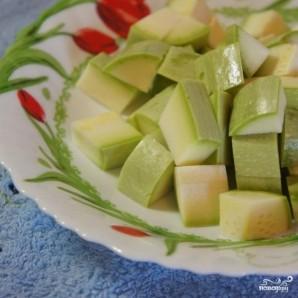Овощной суп-пюре с креветками - фото шаг 1