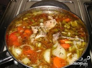 Куриный суп при простуде - фото шаг 1