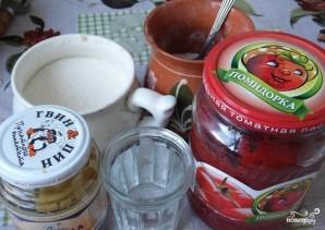 Кетчуп из томатной пасты - фото шаг 1