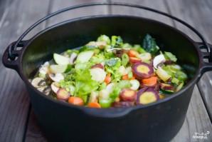 Куриный суп с овощами - фото шаг 7