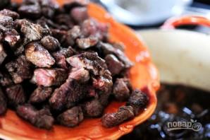 Жаркое из говядины с грибами - фото шаг 14