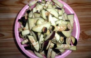 Баклажаны с фасолью на зиму - фото шаг 5