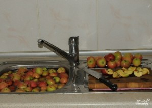 Яблочная брага - фото шаг 1
