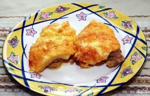 Куриная грудка с ананасами и сыром - фото шаг 5