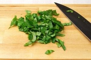 Салат к запеченной семге - фото шаг 7