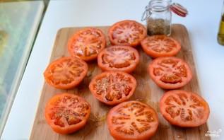 Запеченные томаты - фото шаг 2