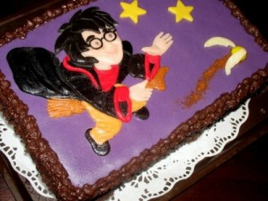 "Торт ""Гарри Поттер"" - фото шаг 8"