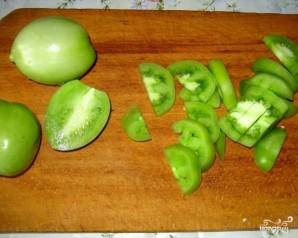 Варенье из зеленых помидоров - фото шаг 2
