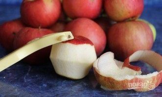 Яблочный джем в хлебопечке - фото шаг 1