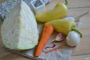 Маринованная капуста с овощами - фото шаг 1