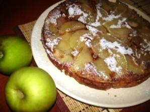 Шарлотка диетическая с яблоками - фото шаг 3