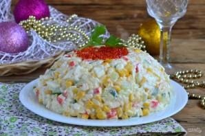 Крабовый салат рецепт классический - фото шаг 8