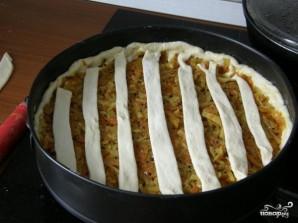Постный дрожжевой пирог - фото шаг 9